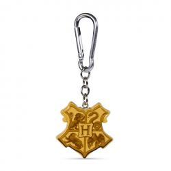 Harry Potter Llaveros 3D Hogwarts Crest 4 cm Caja (10) - Imagen 1