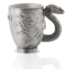 Harry Potter Taza Espresso Pewter Collectible Basilisk - Imagen 1