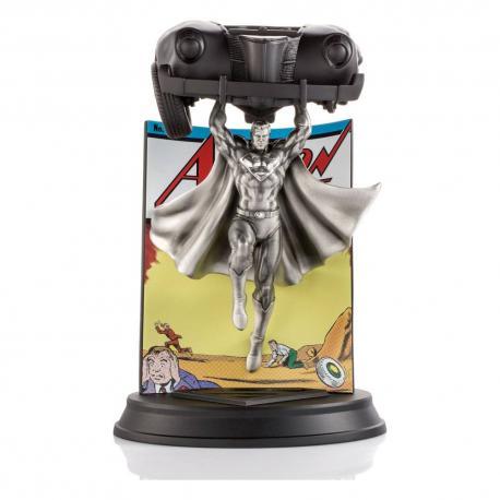 DC Comics Estatua Pewter Collectible Superman Action Comics #1 Limited Edition 29 cm - Imagen 1