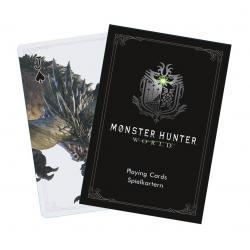 Monster Hunter World Baraja de Naipes Monsters - Imagen 1