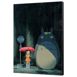 Mi vecino Totoro Póster de madera Totoro 35 x 50 cm - Imagen 1