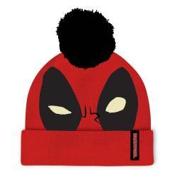 Marvel Comics Deadpool Gorro Beanie Face - Imagen 1