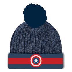 Marvel Captain America Gorro Beanie Logo - Imagen 1