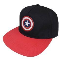 Marvel Captain America Gorra Béisbol Logo - Imagen 1