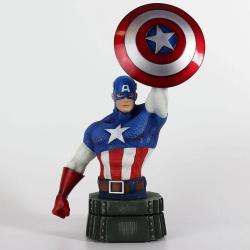 Marvel Busto Captain America 26 cm - Imagen 1