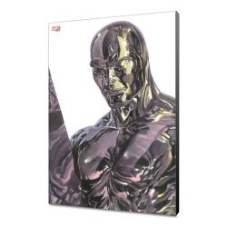 Marvel Avengers Collection Póster de madera Alex Ross - Silver Surfer 30 x 45 cm - Imagen 1