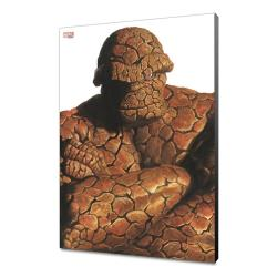 Marvel Avengers Collection Póster de madera Alex Ross - The Thing 30 x 45 cm - Imagen 1