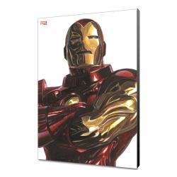 Marvel Avengers Collection Póster de madera Alex Ross - Iron Man 30 x 45 cm - Imagen 1