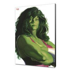 Marvel Avengers Collection Póster de madera Alex Ross - She-Hulk 30 x 45 cm - Imagen 1