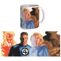 Marvel Taza The Fantastic Four by Alex Ross - Imagen 1