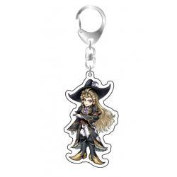 Dissidia Final Fantasy Llavero Acrílico Kuja - Imagen 1