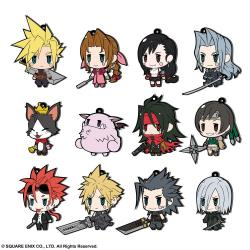 Final Fantasy Colgantes Caucho 7 cm Surtido FF VII Extended Edition (12) - Imagen 1
