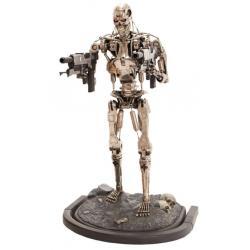 Terminator 2 Estatua tamaño real T-800 Endoskeleton Versión 2 190 cm - Imagen 1