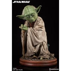 Star Wars Estatua tamaño real Yoda 81 cm - Imagen 1