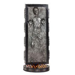 Star Wars Estatua tamaño real Han Solo en Carbonita 231 cm - Imagen 1