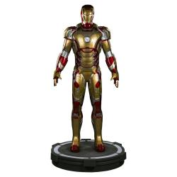 Iron Man 3 Estatua tamaño real Iron Man Mark 42 215 cm - Imagen 1