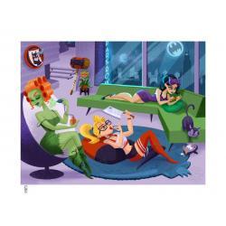 DC Comics Litografia Sleepover Sirens 46 x 61 cm - enmarcado - Imagen 1
