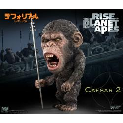 El origen del planeta de los simios Estatua Deform Real Series Soft Vinyl Caesar Spear Ver. 15 cm - Imagen 1