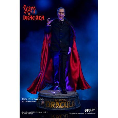 Las cicatrices de Drácula Estatua 1/4 Count Dracula 2.0 53 cm - Imagen 1