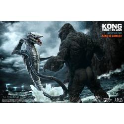 Kong La Isla Calavera Estatuas Deform Real Series Kong vs Skull Crawler Normal Version 32 cm - Imagen 1