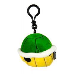 Mario Kart Llavero Peluche Mocchi-Mocchi Green Shell 10 cm - Imagen 1