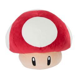 Mario Kart Peluche Mocchi-Mocchi Super Mushroom 40 cm - Imagen 1