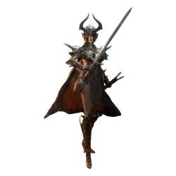 Knight of Fire Figura 1/6 Black Edition 30 cm - Imagen 1
