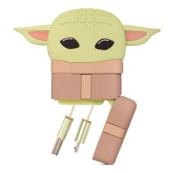 Star Wars The Mandalorian PowerSquad Cable de carga 3in1 The Child - Imagen 1