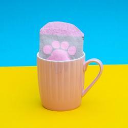Pusheen Taza con Calcetines Pink Cupcake - Imagen 1