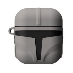 Star Wars: The Mandalorian PowerSquad Caja de Carga Inalámbrica para AirPods The Mandalorian - Imagen 1