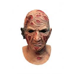 Pesadilla en Elm Street Máscara de látex Deluxe Freddy Krueger - Imagen 1