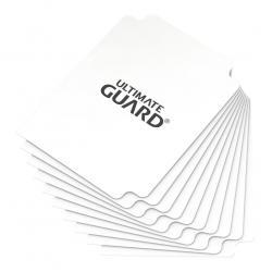 Ultimate Guard Card Dividers Tarjetas Separadoras para Cartas Tamaño Estándar Blanco (10) - Imagen 1