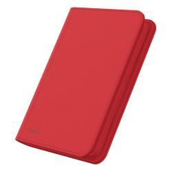 Ultimate Guard Zipfolio 160 - 8-Pocket XenoSkin Rojo - Imagen 1