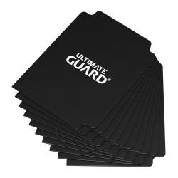 Ultimate Guard Card Dividers Tarjetas Separadoras para Cartas Tamaño Estándar Negro (10) - Imagen 1