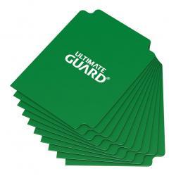 Ultimate Guard Card Dividers Tarjetas Separadoras para Cartas Tamaño Estándar Verde (10) - Imagen 1