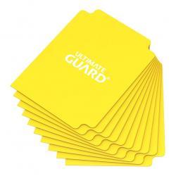 Ultimate Guard Card Dividers Tarjetas Separadoras para Cartas Tamaño Estándar Amarillo (10) - Imagen 1