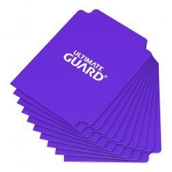 Ultimate Guard Card Dividers Tarjetas Separadoras para Cartas Tamaño Estándar Violeta (10) - Imagen 1