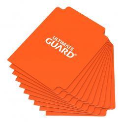 Ultimate Guard Card Dividers Tarjetas Separadoras para Cartas Tamaño Estándar Naranja (10) - Imagen 1