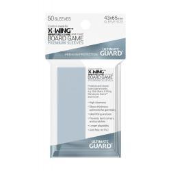 Ultimate Guard Premium Soft Sleeves Fundas de Cartas del Juego de Mesa X-Wing™ Miniatures Game (50) - Imagen 1