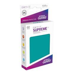 Ultimate Guard Supreme UX Sleeves Fundas de Cartas Tamaño Japonés Gasolina Azul (60) - Imagen 1