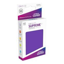 Ultimate Guard Supreme UX Sleeves Fundas de Cartas Tamaño Japonés Violeta (60) - Imagen 1