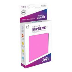 Ultimate Guard Supreme UX Sleeves Fundas de Cartas Tamaño Japonés Fucsia (60) - Imagen 1