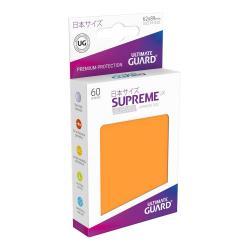 Ultimate Guard Supreme UX Sleeves Fundas de Cartas Tamaño Japonés Naranja (60) - Imagen 1