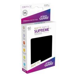 Ultimate Guard Supreme UX Sleeves Fundas de Cartas Tamaño Japonés Negro Mate (60) - Imagen 1