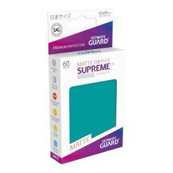Ultimate Guard Supreme UX Sleeves Fundas de Cartas Tamaño Japonés Gasolina Azul Mate (60) - Imagen 1