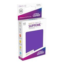 Ultimate Guard Supreme UX Sleeves Fundas de Cartas Tamaño Japonés Violeta Mate (60) - Imagen 1
