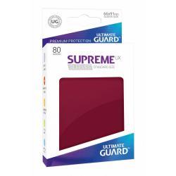 Ultimate Guard Supreme UX Sleeves Fundas de Cartas Tamaño Estándar Borgoña (80) - Imagen 1