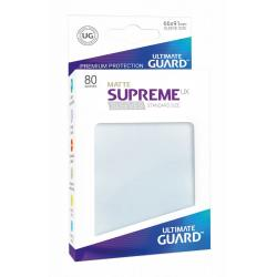 Ultimate Guard Supreme UX Sleeves Fundas de Cartas Tamaño Estándar Frosted Mate (80) - Imagen 1
