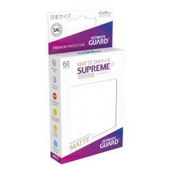 Ultimate Guard Supreme UX Sleeves Fundas de Cartas Tamaño Japonés Frosted Mate (60) - Imagen 1