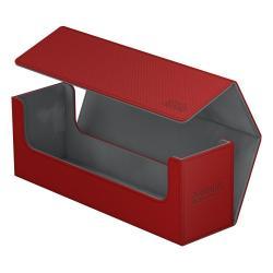 Ultimate Guard Arkhive 400+ Caja de Cartas Tamaño Estándar XenoSkin Rojo - Imagen 1